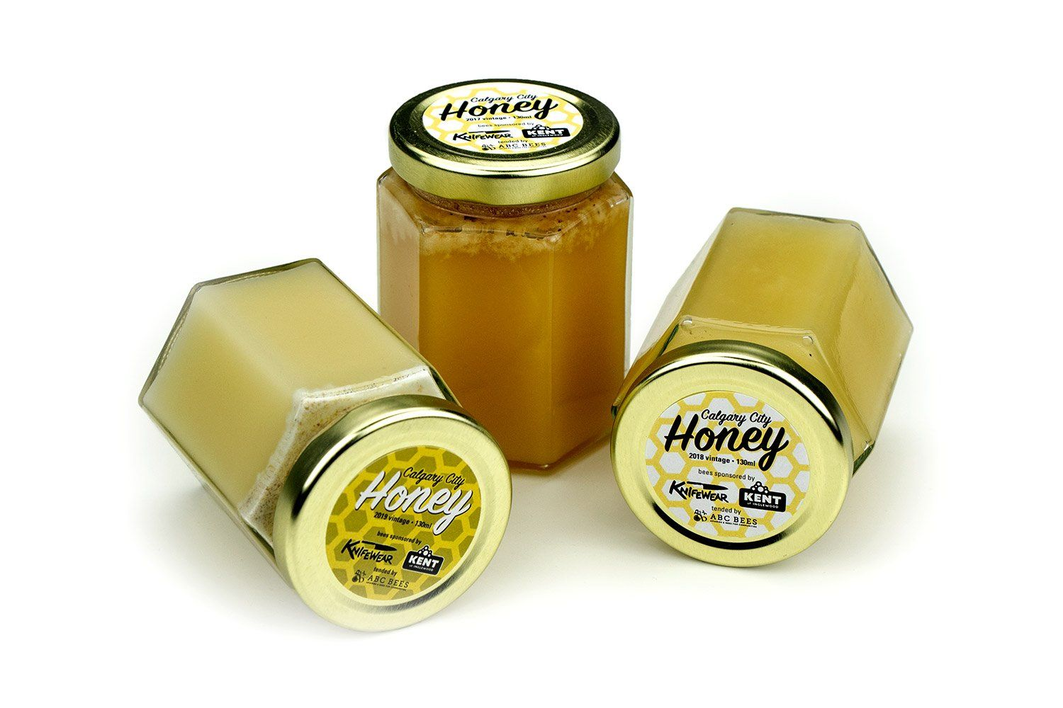 ABC Bees Honey, 190ml Jar