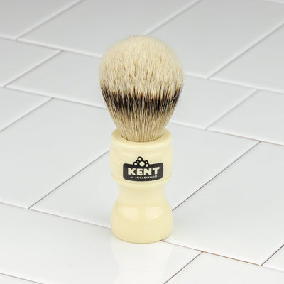 Kent of Inglewood Silvertip Badger Hair Shaving Brush