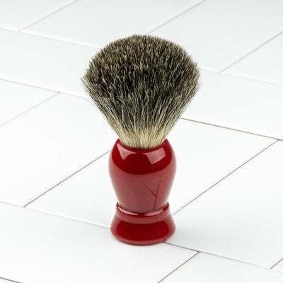 Hoxton Shave Co. Shaving Brush Grey Badger
