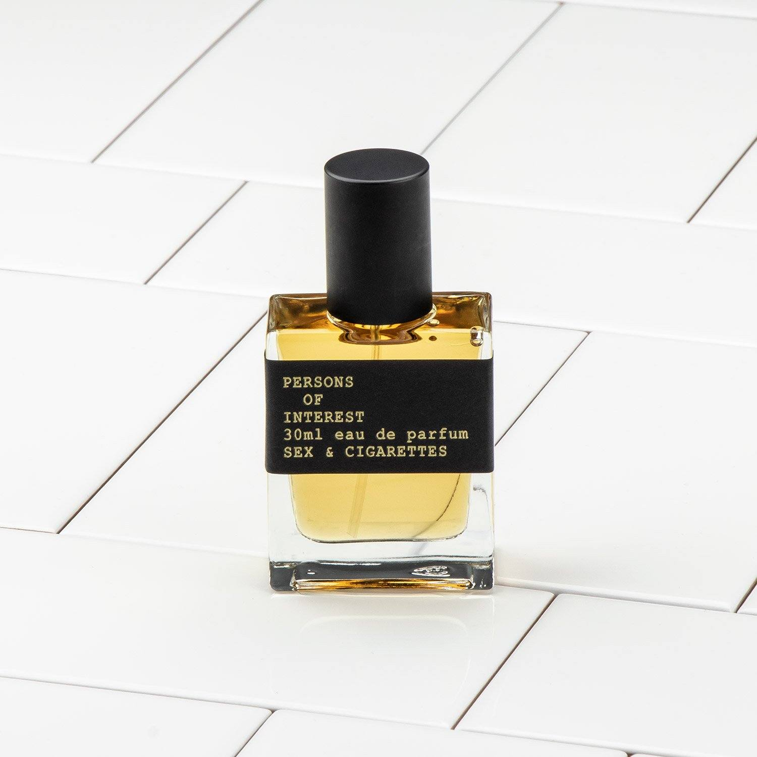 Persons of Interest Sex & Cigarettes Eau de Parfum, 30ml Bottle