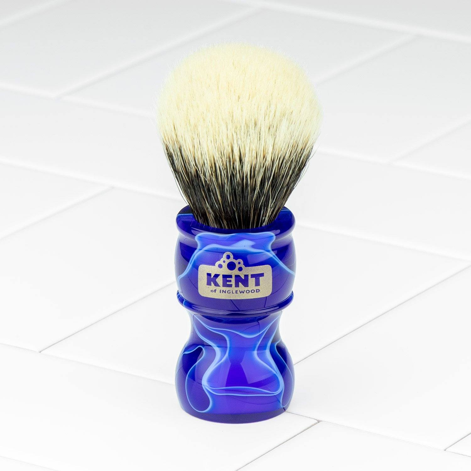 Kent Of Inglewood Two-Band Badger Hair Shaving Brush - Special Edition