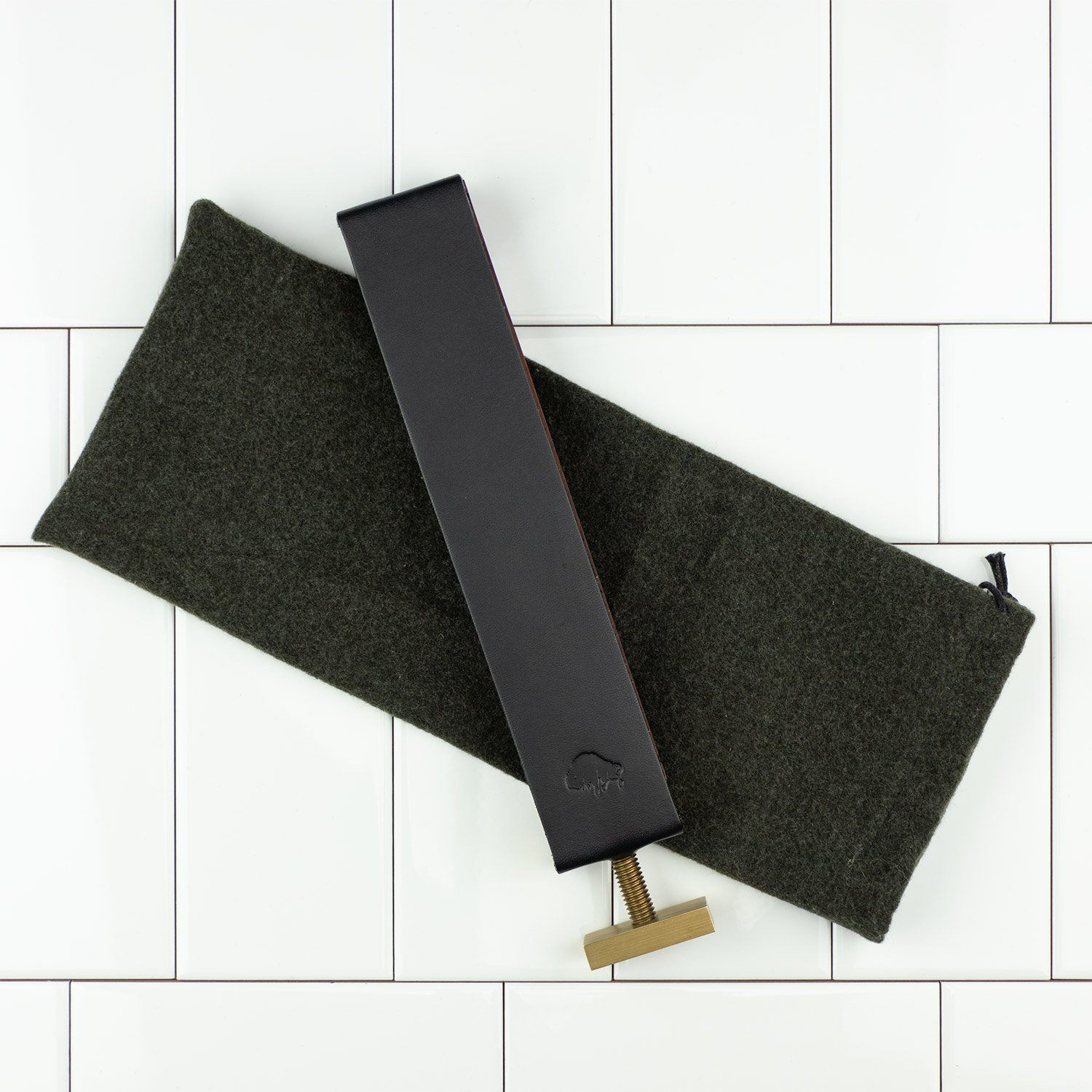 Ezra Arthur Paddle Strop and Case