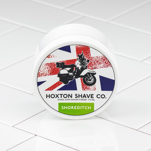 Hoxton Shave Co. Shoreditch Shaving Cream in Tub, 177ml