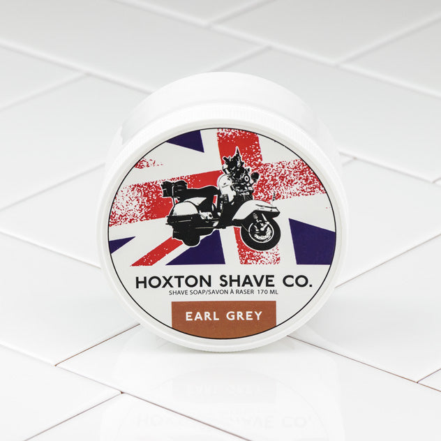 Hoxton Shave Co. Earl Grey Shaving Cream in Tub, 177ml