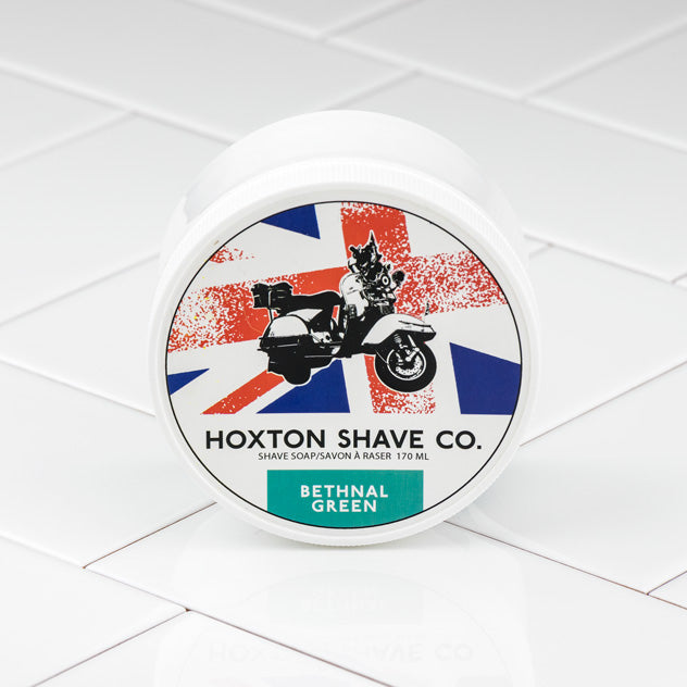 Hoxton Shave Co. Bethnal Green Shaving Cream in Tub, 177ml