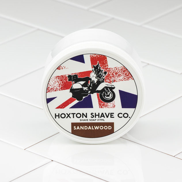 Hoxton Shave Co. Sandalwood Shaving Cream in Tub, 177ml
