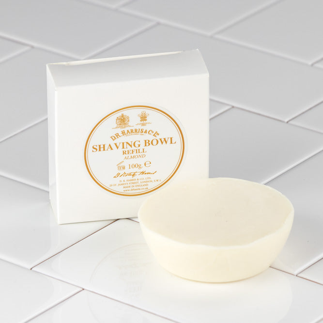 D.R. Harris Almond Shaving Soap