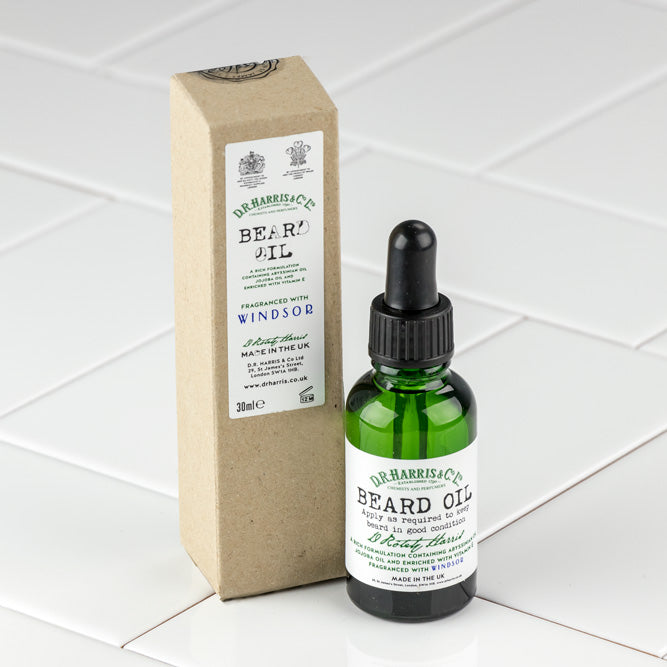 D.R. Harris Windsor Beard Oil