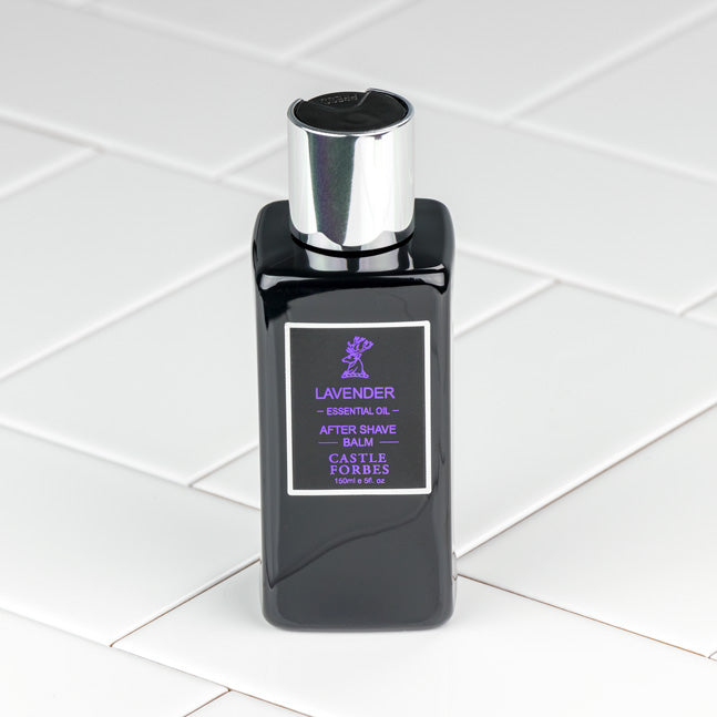 Castle Forbes Lavender Essential Oil Aftershave Balm 150ml