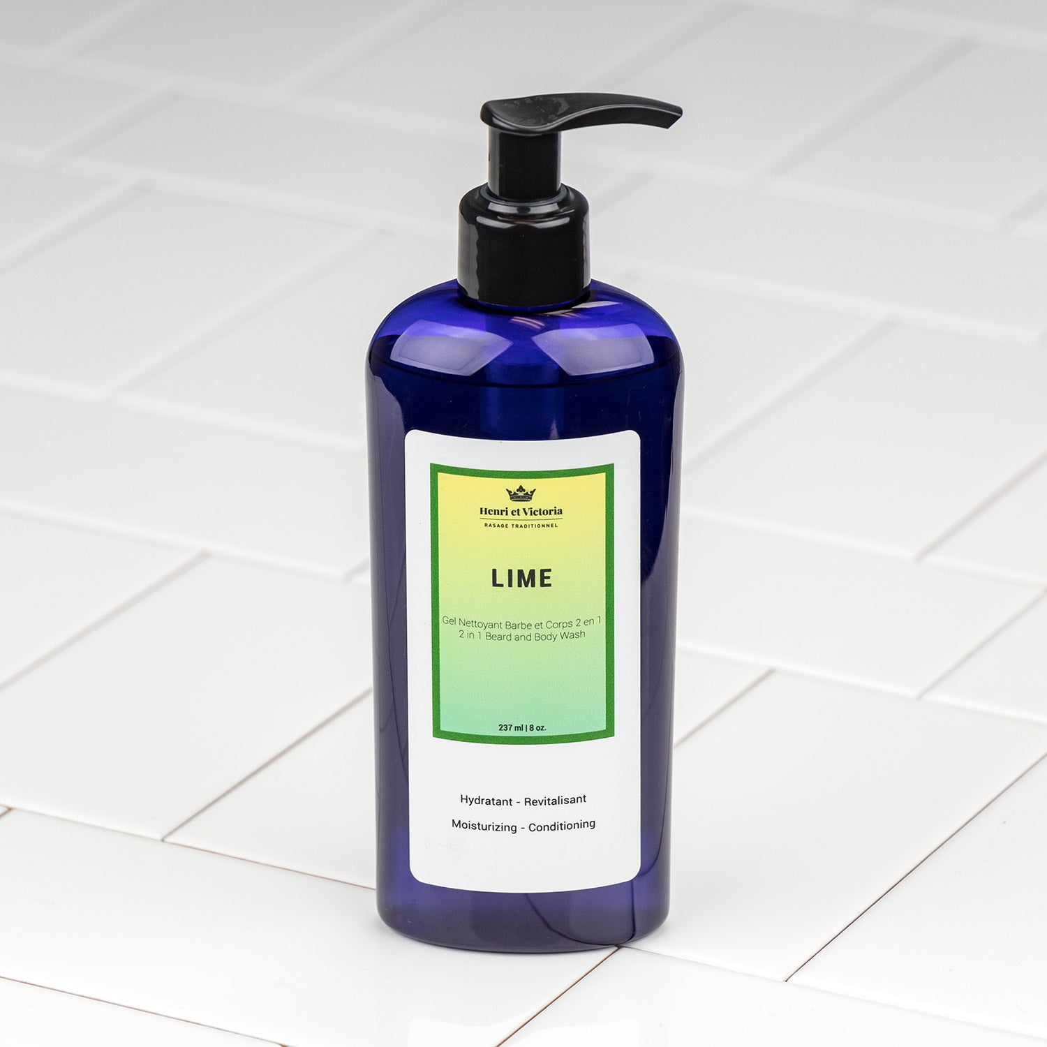 Henri et Victoria - Lime Body and Beard Wash 8oz
