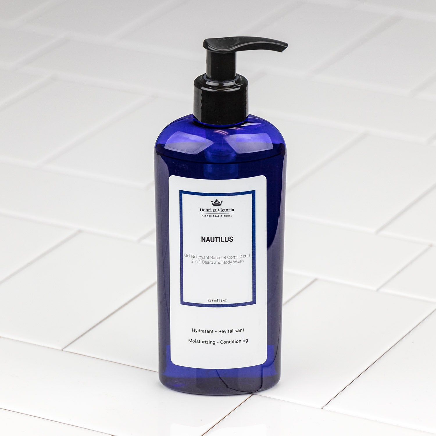 Henri et Victoria - Nautilus Body and Beard Wash 8oz