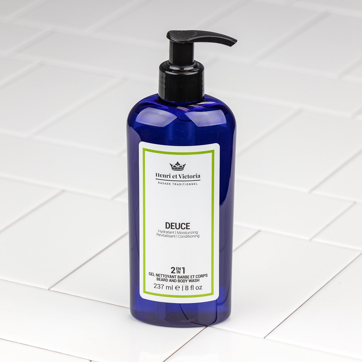 Henri et Victoria - Deuce Body and Beard Wash 8oz