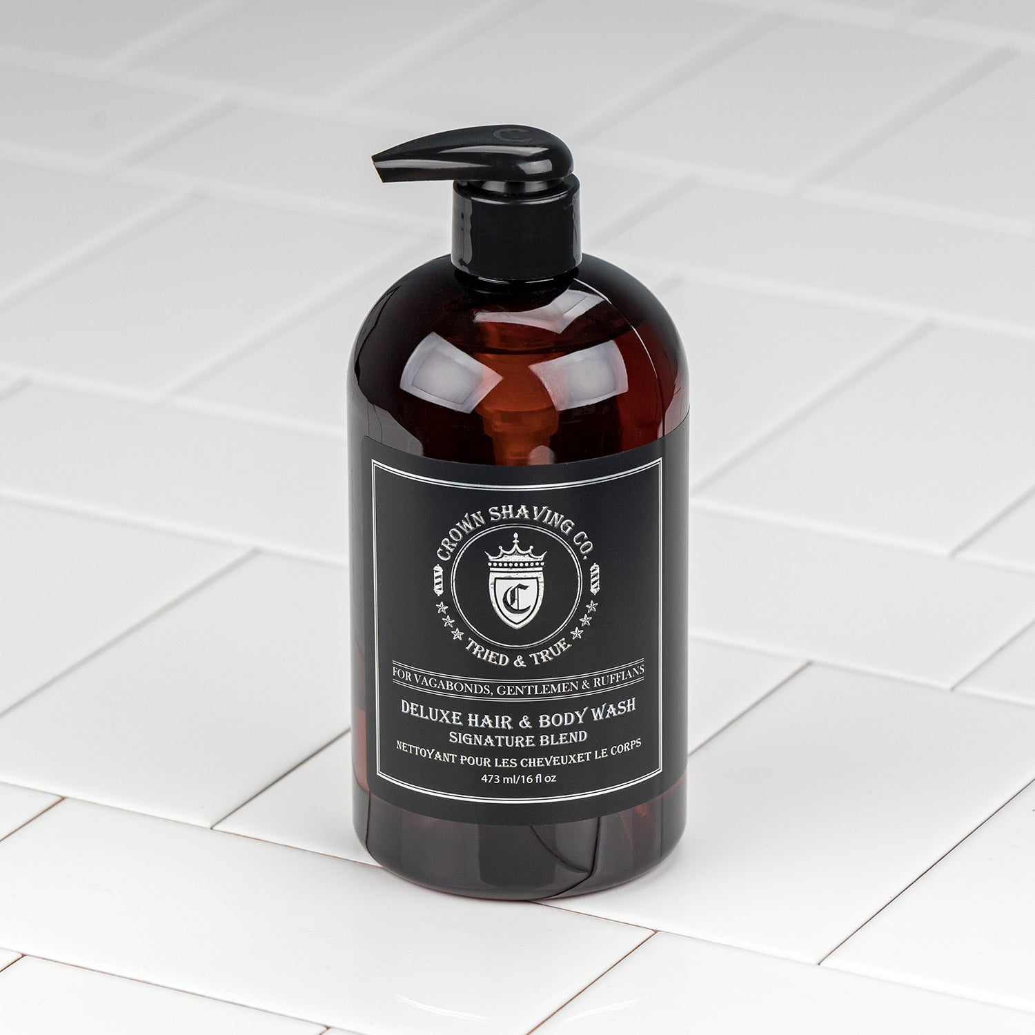 Crown Shaving Co. Hair and Body Wash - Signature Scent 473mL/16oz