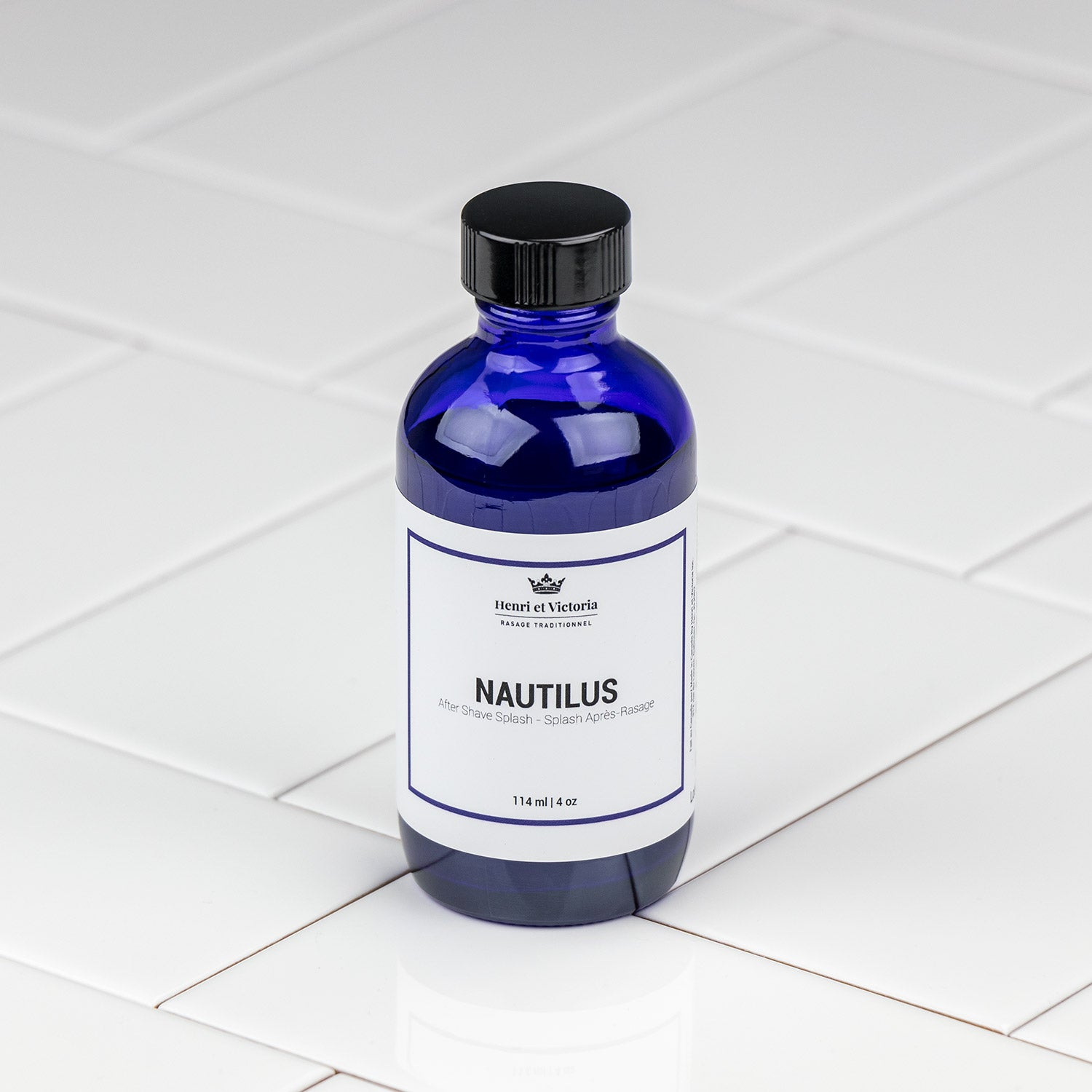 Henri et Victoria - Nautilus Aftershave Splash