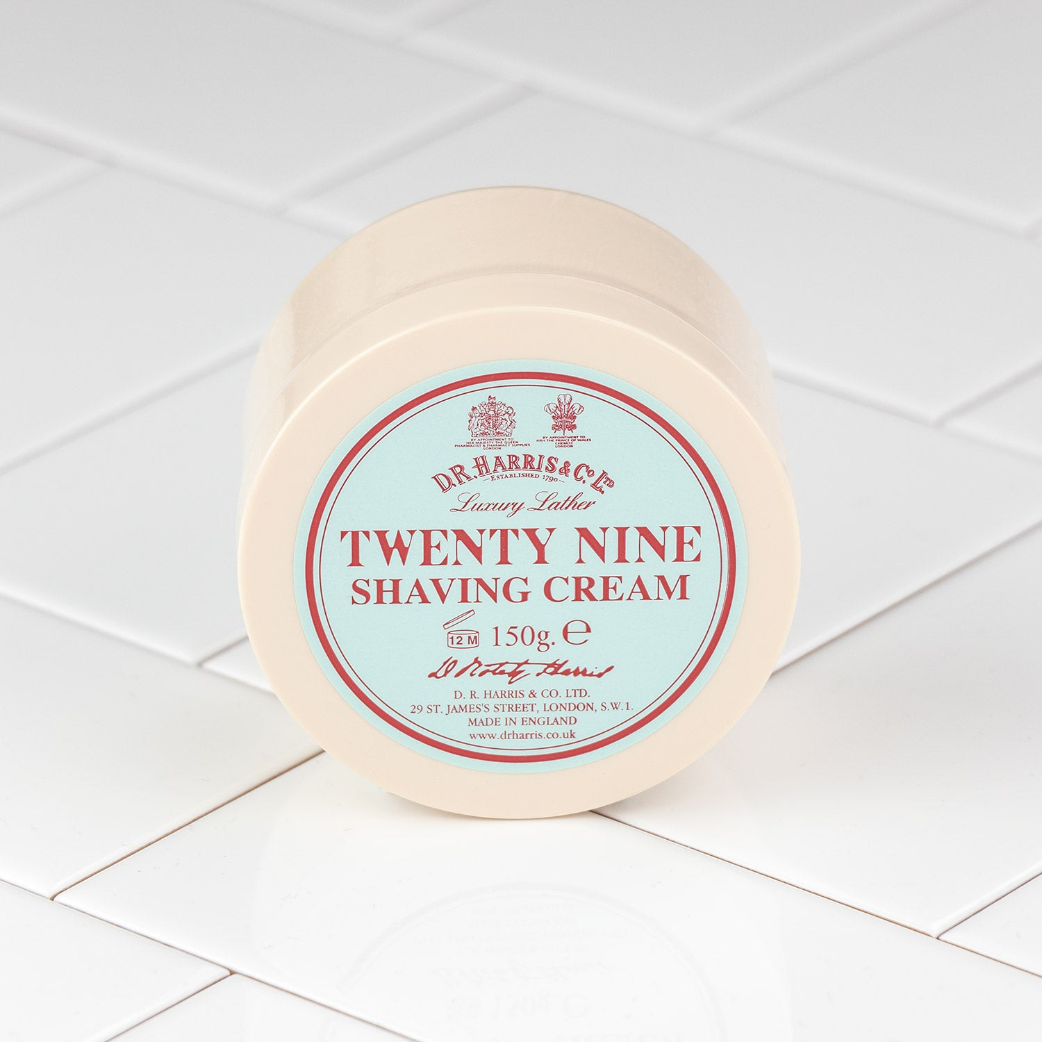 D.R. Harris Twenty Nine Shaving Cream