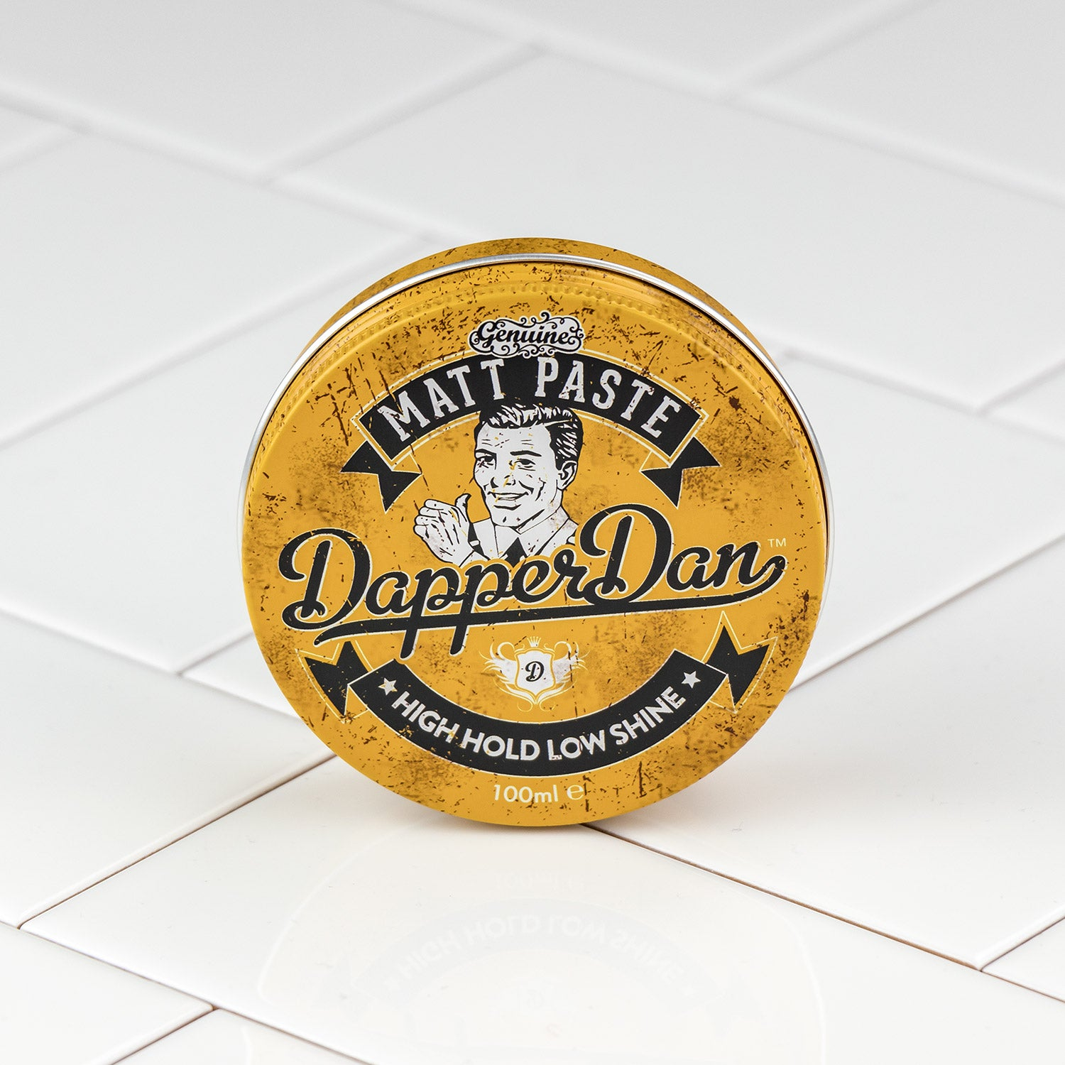 Dapper Dan Matt Paste, High Hold Low Shine (100ml/3.38oz)