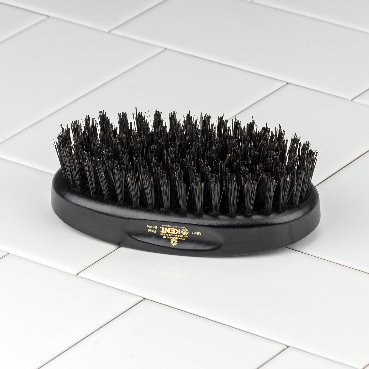 Kent of England Military Hair & Beard Brush