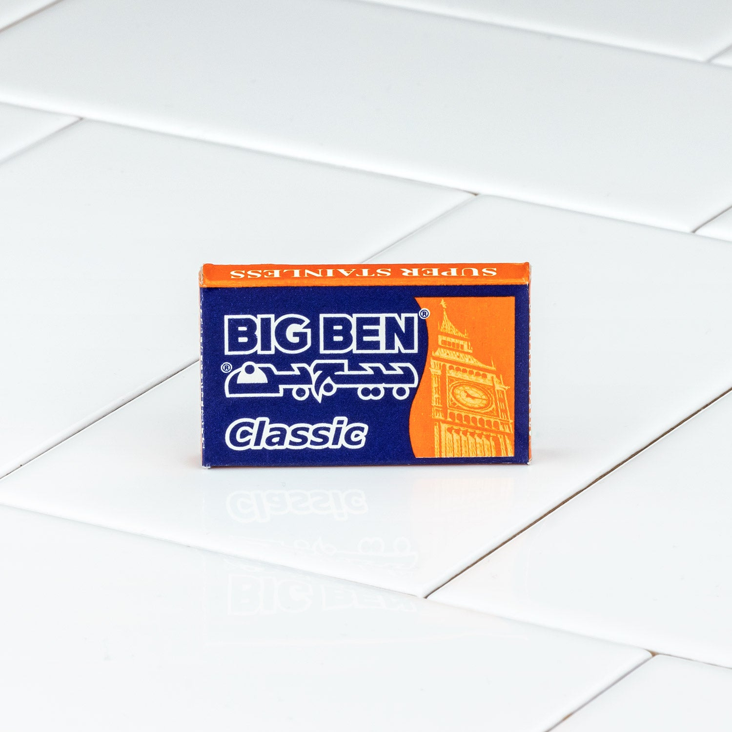Big Ben Stainless Double Edge Razor Blades, 5 Pack