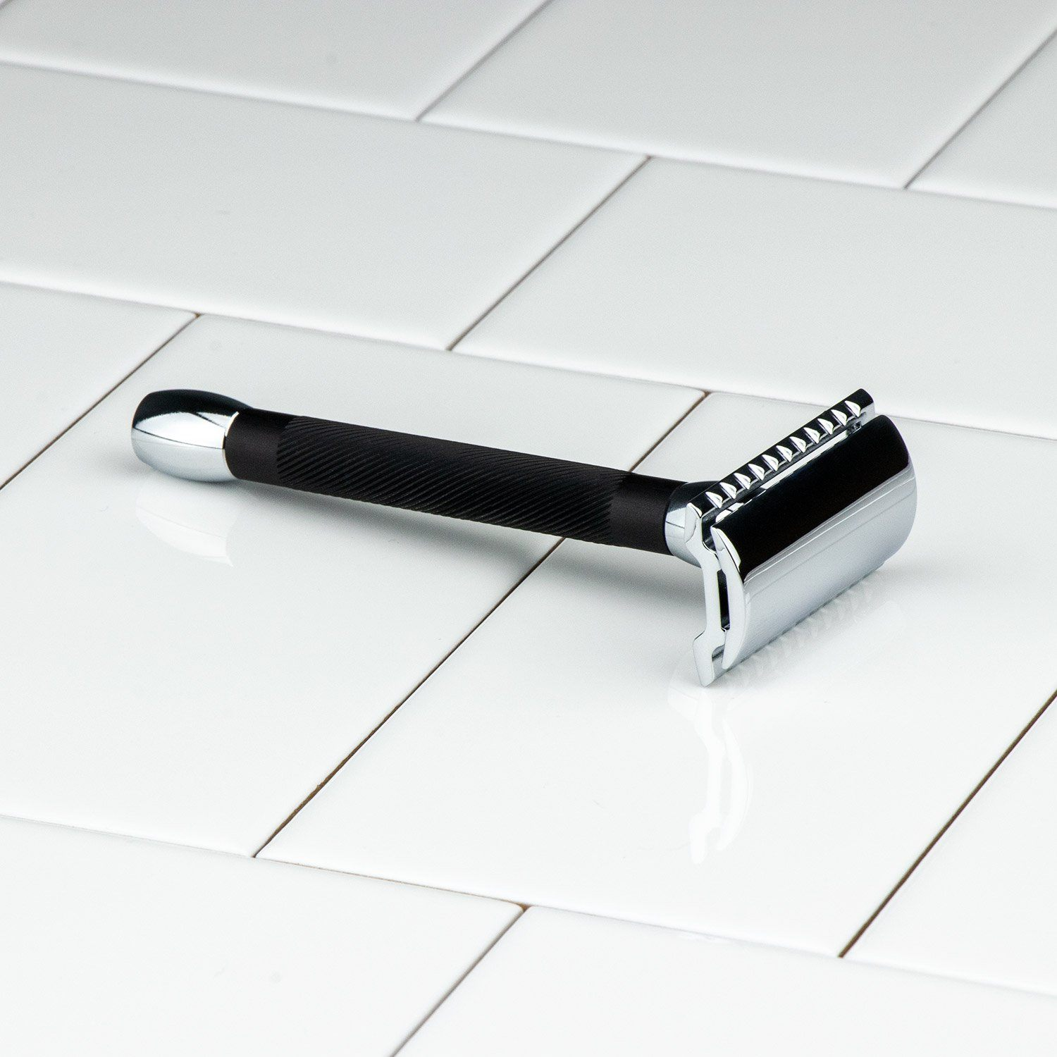 Merkur Black Handle Double Edge Safety Razor