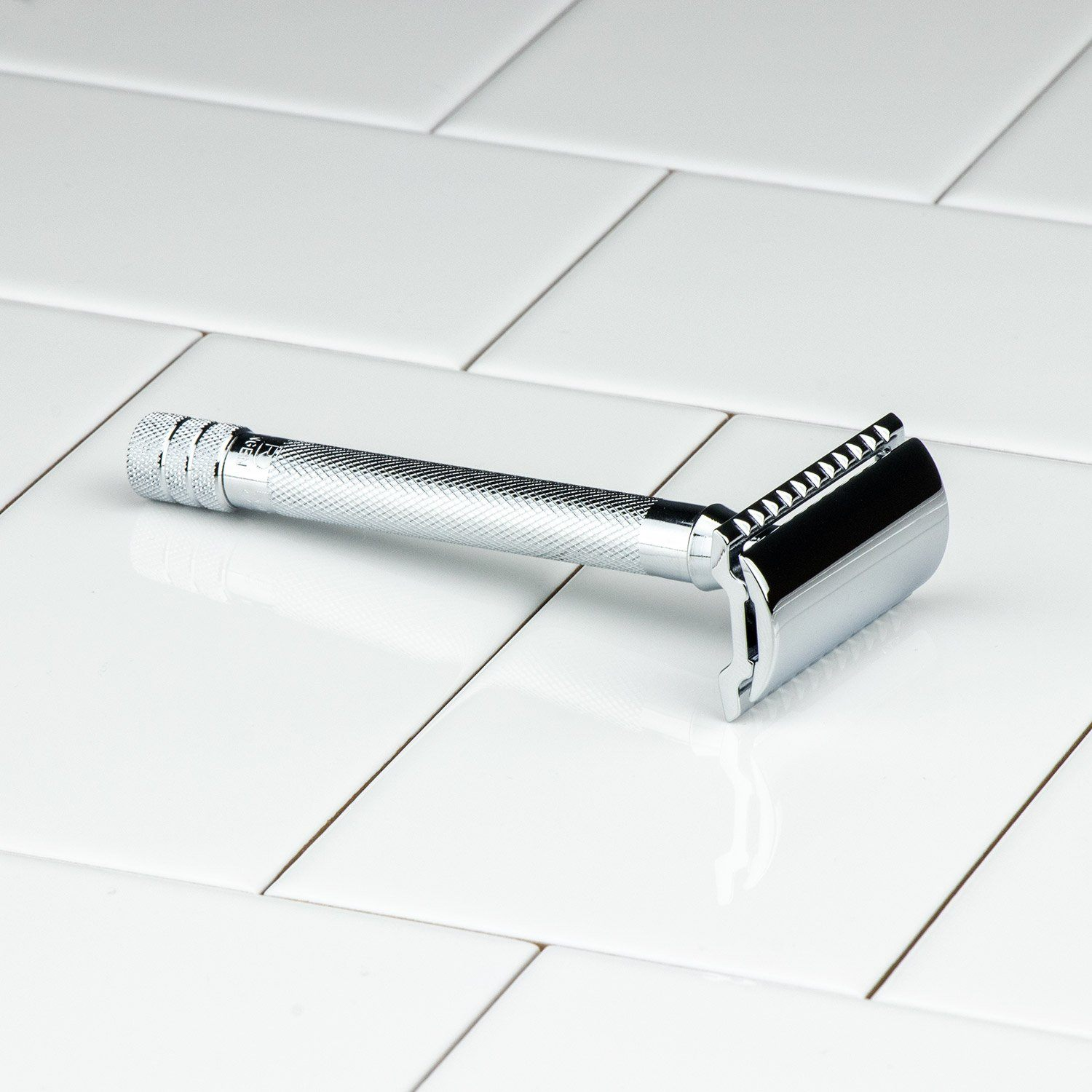 Merkur Chrome Handle Double Edge Safety Razor