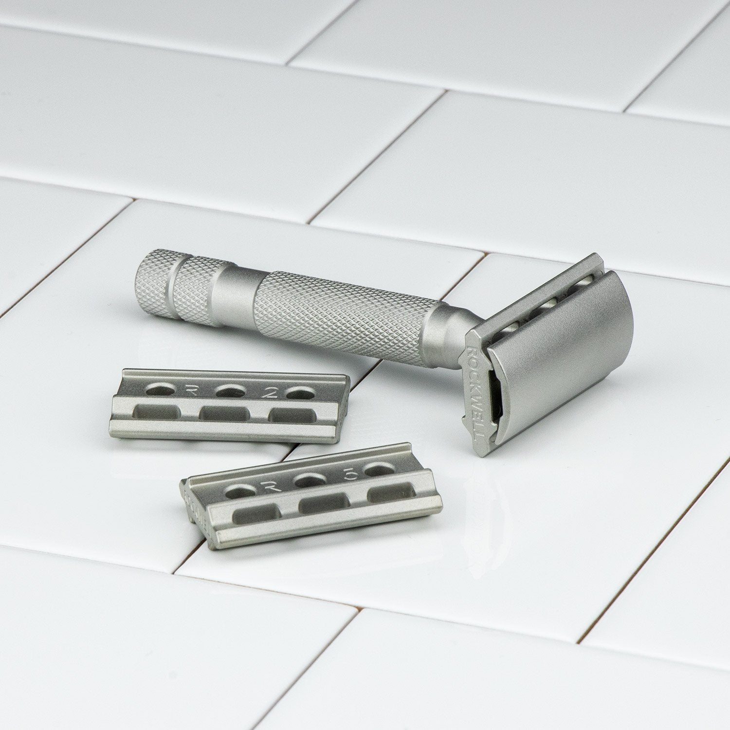 Rockwell Razors 6S Stainless Steel DE Safety Razor