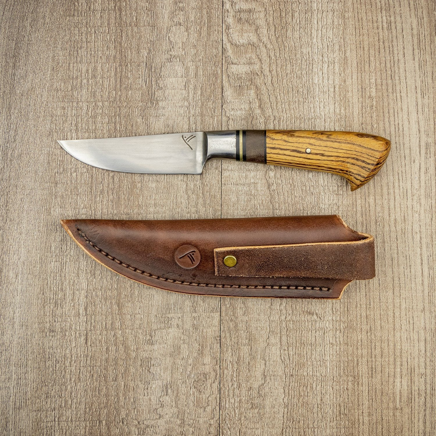 Chris Green Straight Back 90mm Fireside Knife
