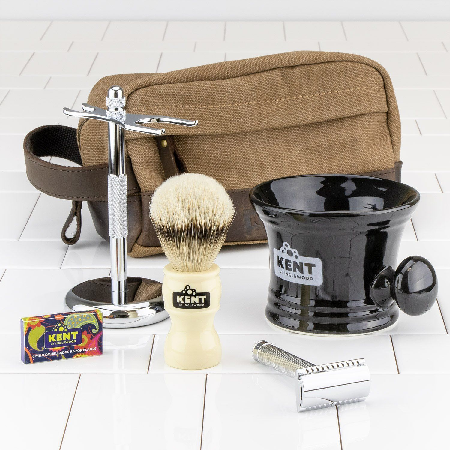 Kent of Inglewood Deluxe Shaving Kit