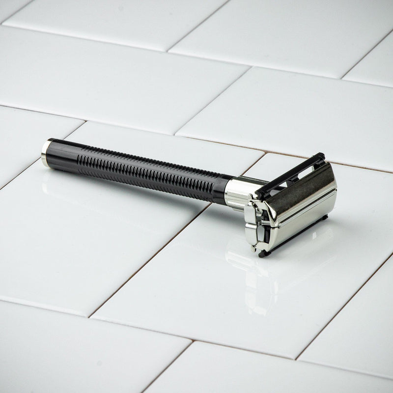 Feather Popular Double-edge Safety Razor - butterfly door style razor