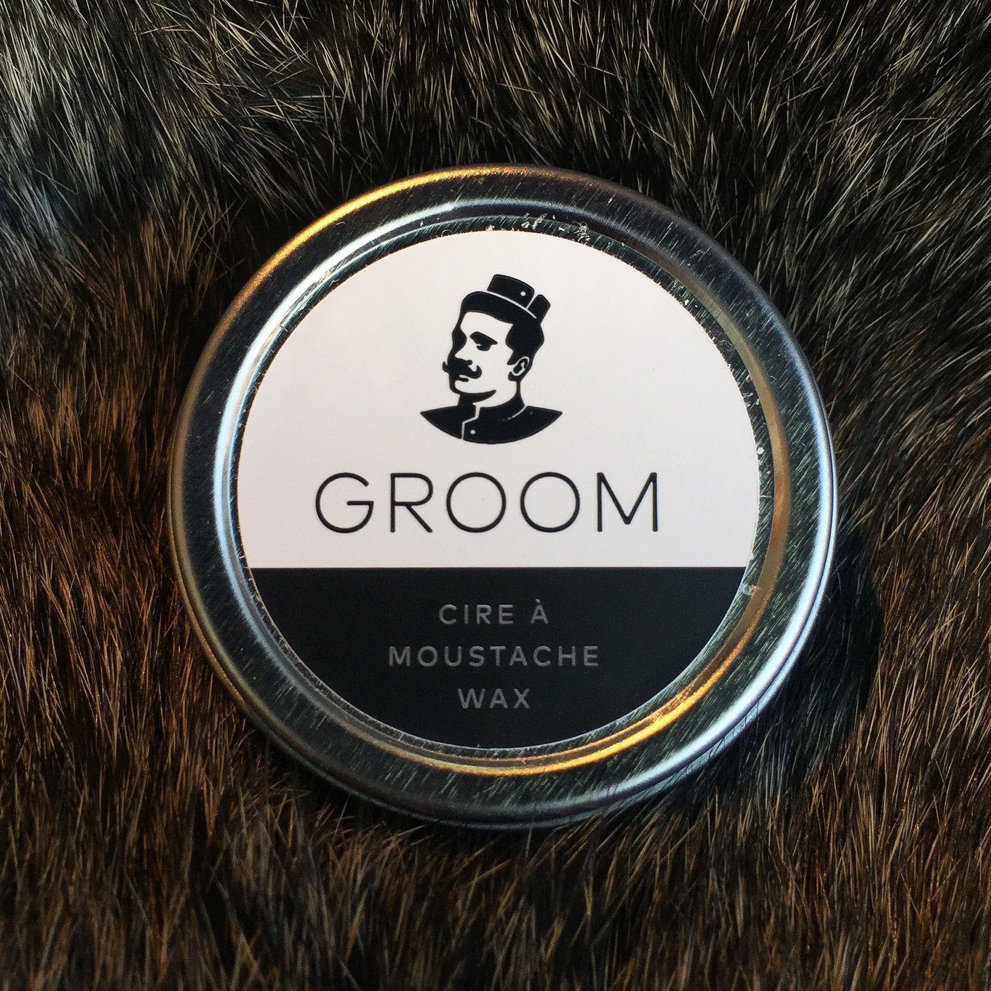 Groom Moustache Wax 15ml