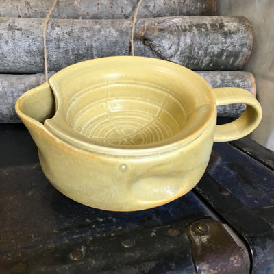 Lot. 15 Scuttle Style Shaving Bowl