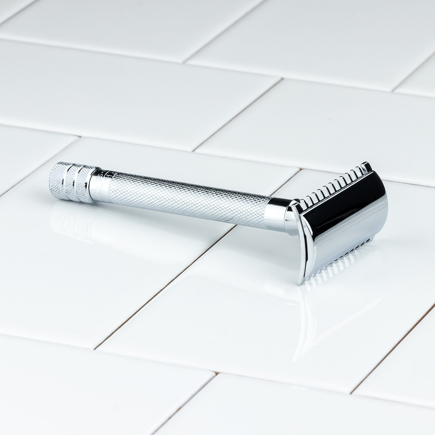 Merkur Double Open Tooth Comb 25C DE Safety Razor