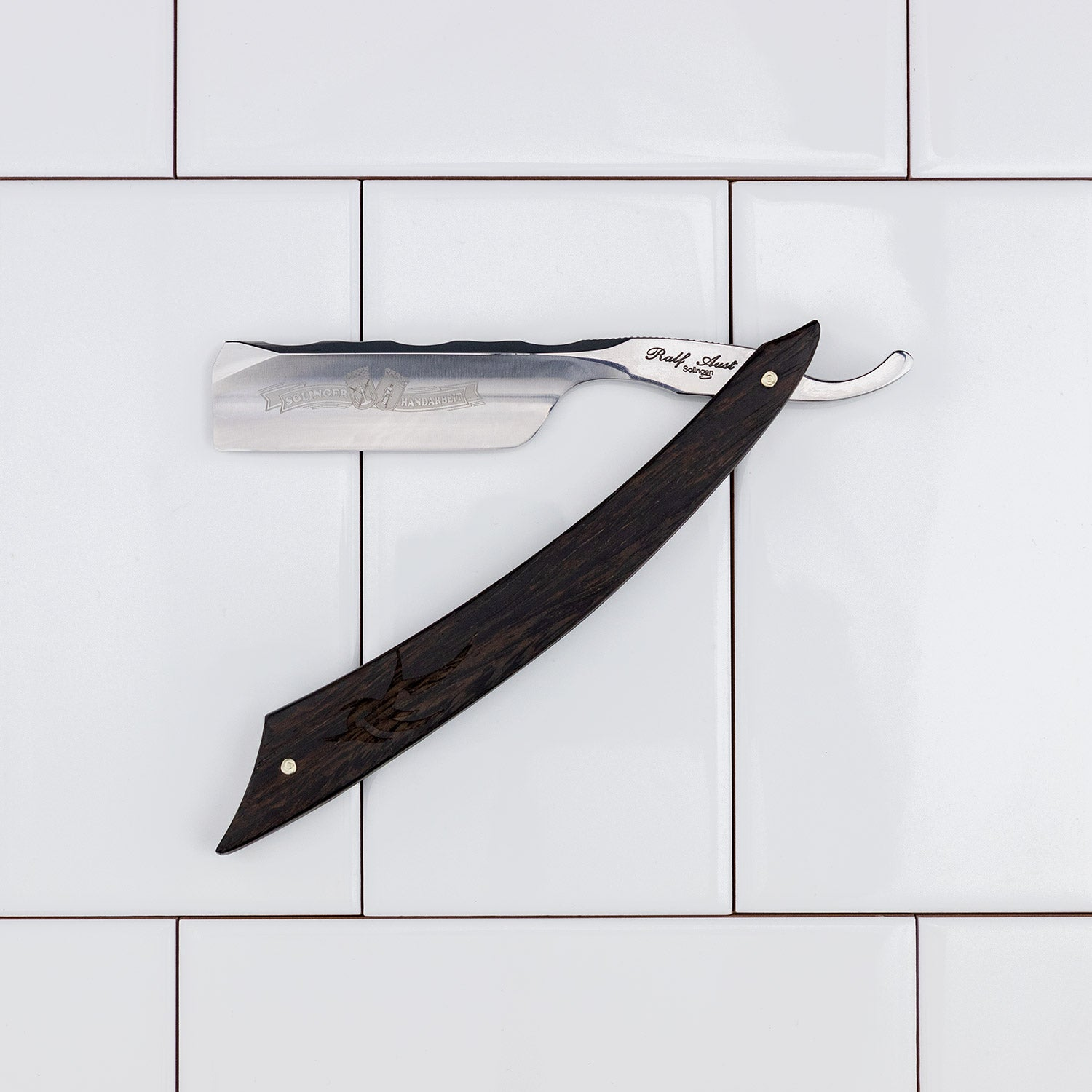 "Ralf Aust American Point 6/8"" Straight Razor"