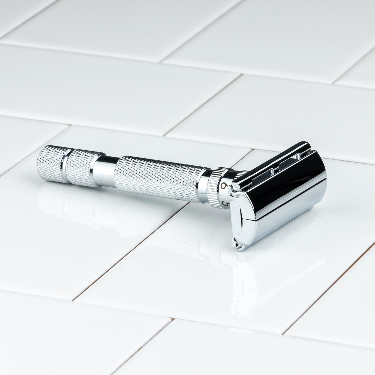 Rockwell Model T Adjustable DE Safety Razor