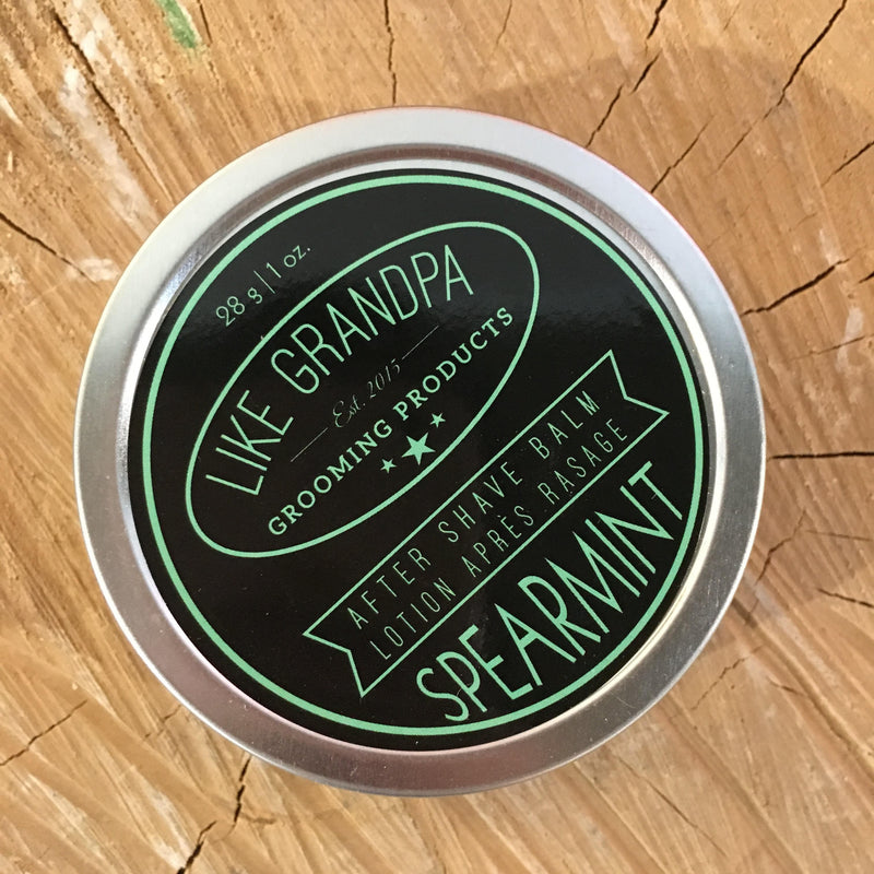 Like Grandpa Aftershave Balm - Spearmint 28g