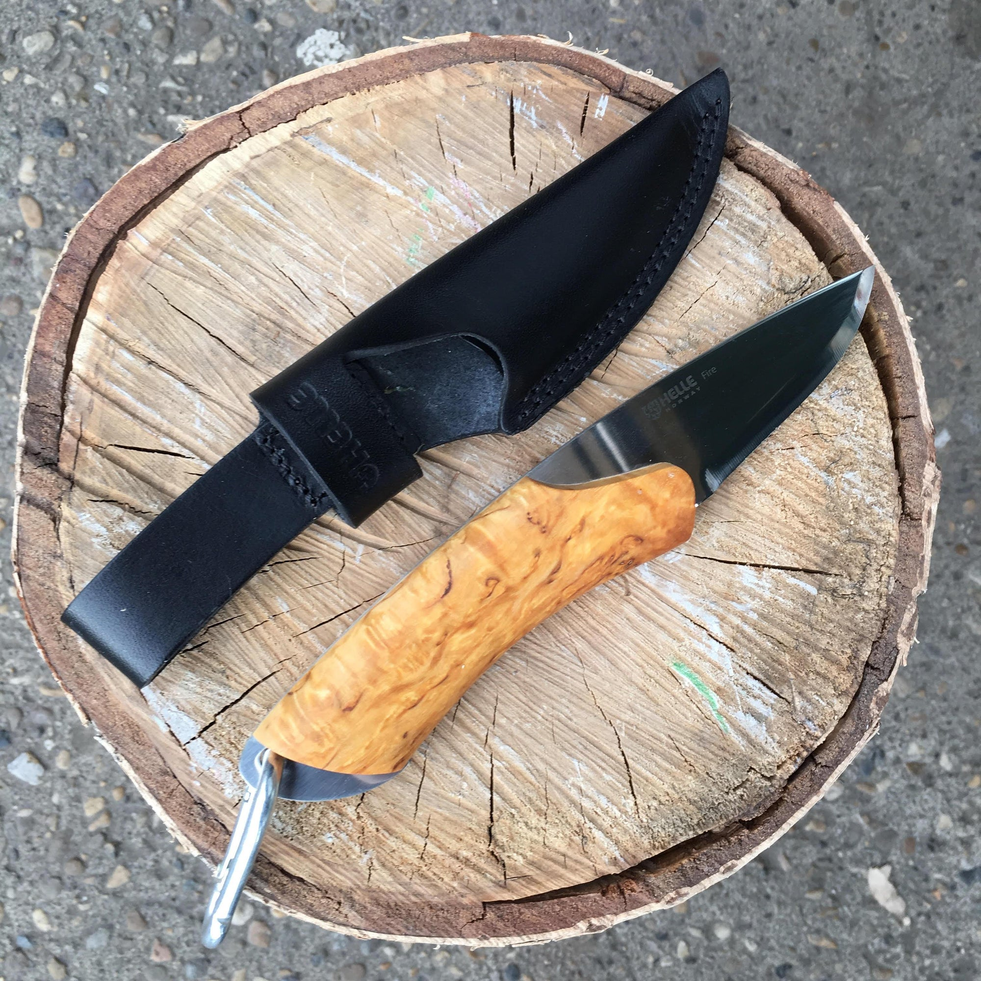 Helle Knives Fire 68mm Hunting Knife