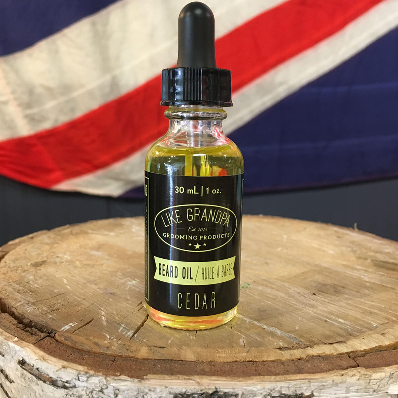Like Grandpa Beard Oil - Cedar 30mL