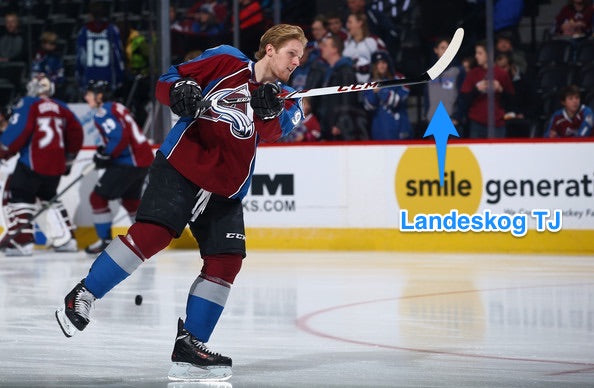 Landeskog Hockey Tape Job