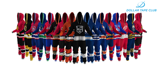 NHL onesie suit