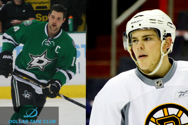 Jamie Benn/Tyler Seguin (#6 and #5 respectively Yahoo)