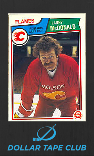 lenny Mcdonald hockey card