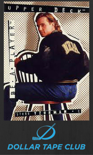 Yzerman Hockey Card