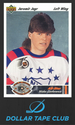 Jagr Mullet Hockey Card