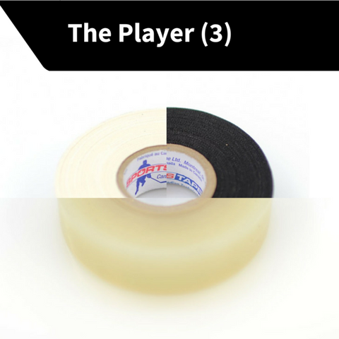 THE PLAYER: 3 Rolls ( 1 inch x 27 yards!! $2.33/Roll)