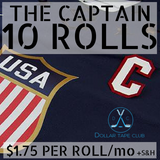 The Captain-9 rolls (1 inch x 27 yds!! $2.08/Roll)