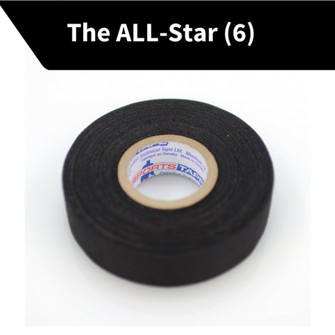 ALL-STAR: 6-Rolls (1 inch x 27 yds!! 2.00/Roll)
