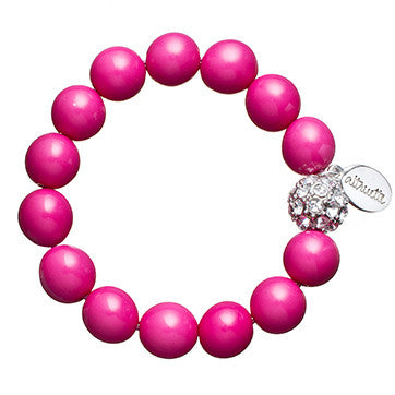 Girls Pave Ball Bracelet