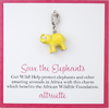 Girls Elephant Charm