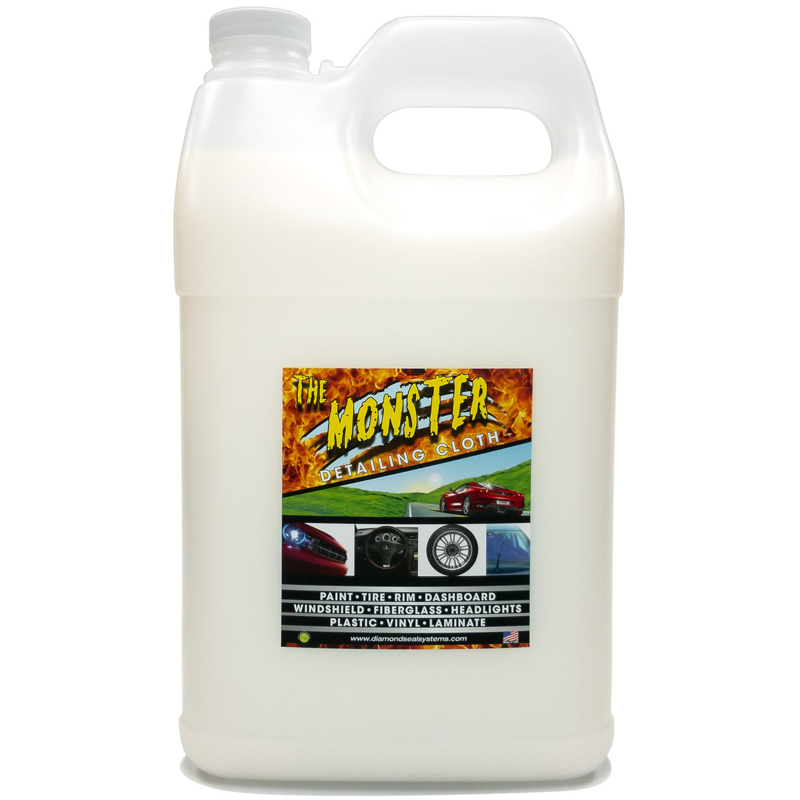 The Monster Cleaner for Auto, Boat, & RV Surfaces
