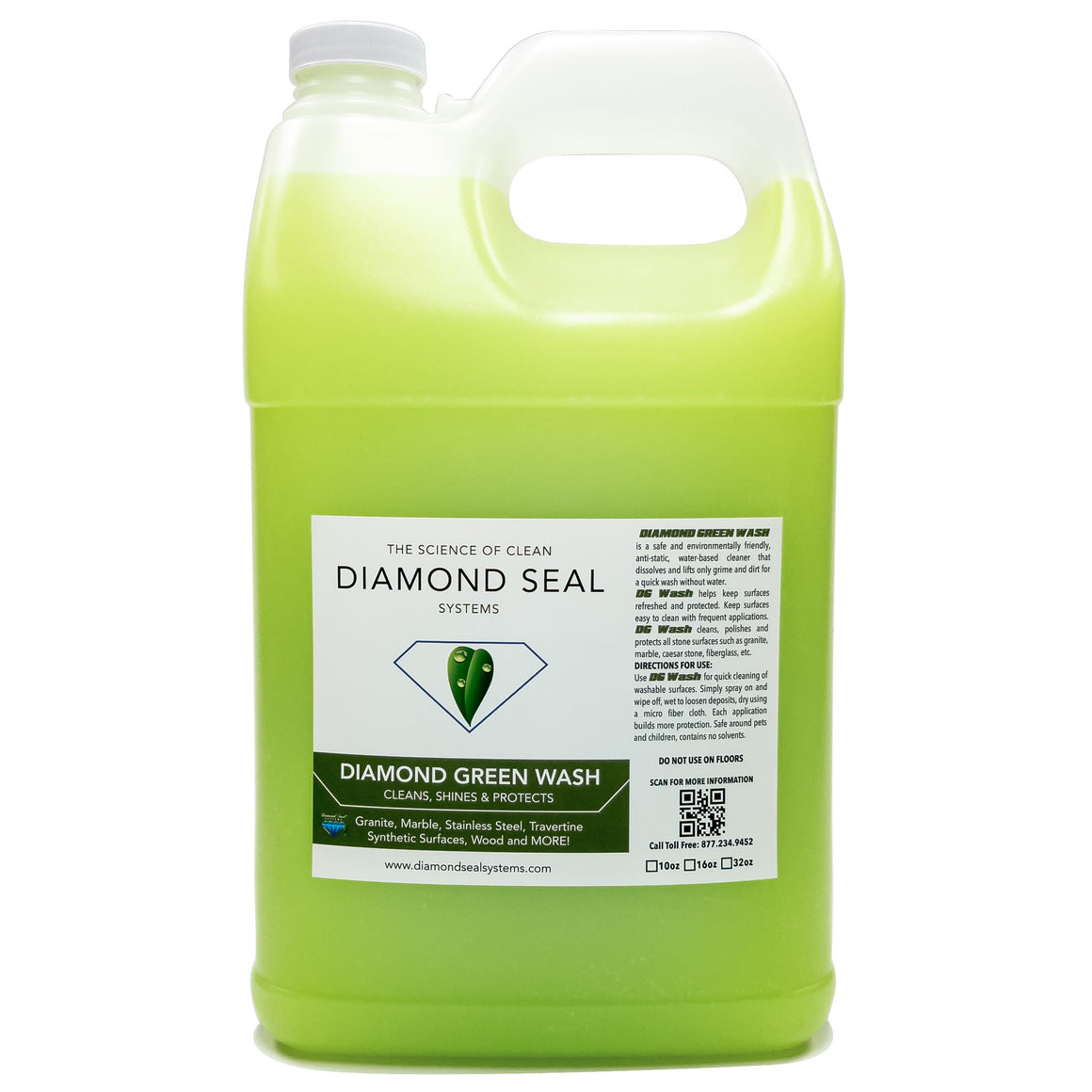 Diamond Green Wash