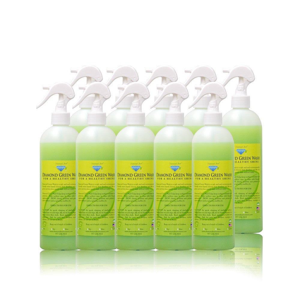 Diamond Green Wash - 25 Bottle Case (16 fl. oz. ea.)  - SAVE 10%